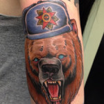 значение тату медведя