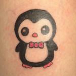 значение тату пингвин